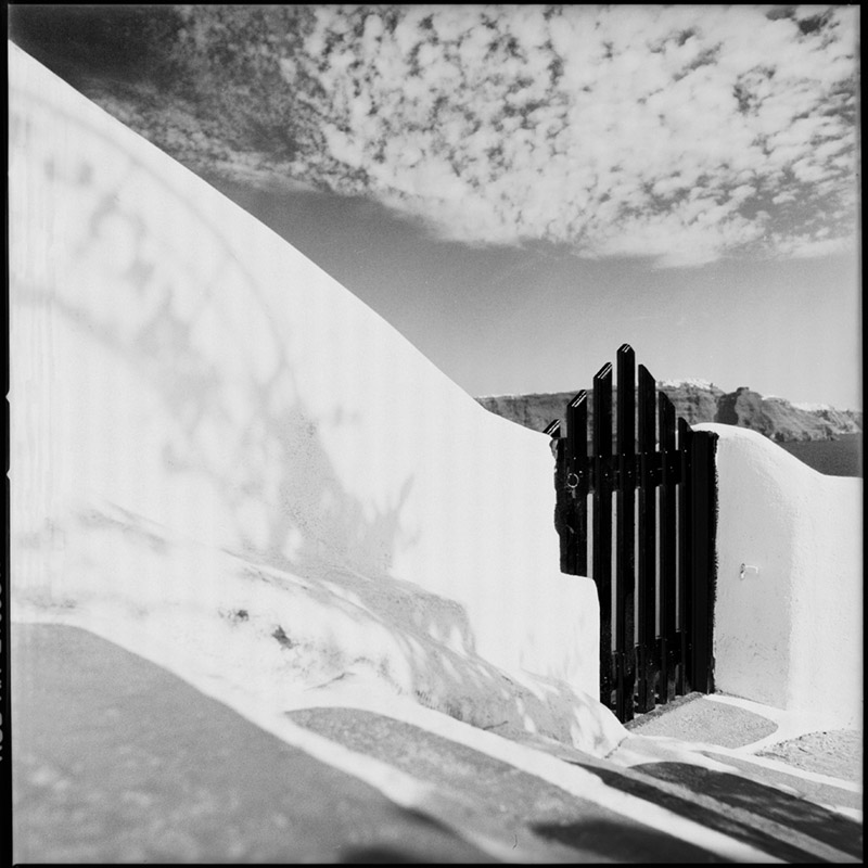 Griechenland 2009 * Santorini, Oia * Hasselblad 500c/m * Rossi Photography * Reisereportage