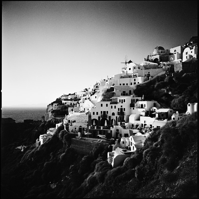 Griechenland 2009 * Santorini, Oia * Hasselblad 500c/m * Rossi Photography * Reisereportage