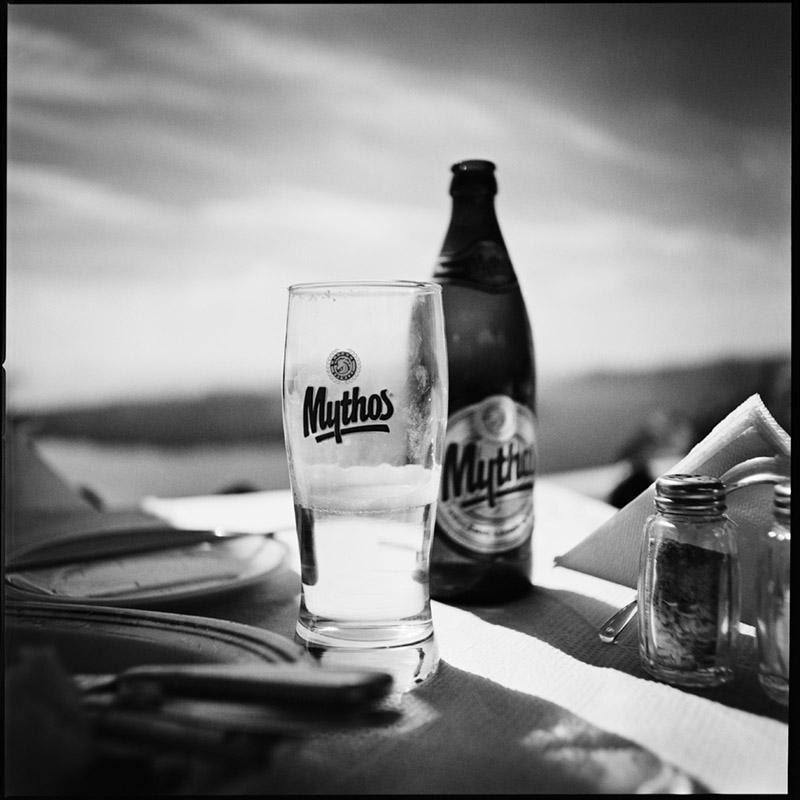 Griechenland 2009 * Santorini * Mythos Beer * Hasselblad 500c/m * Rossi Photography * Reisereportage