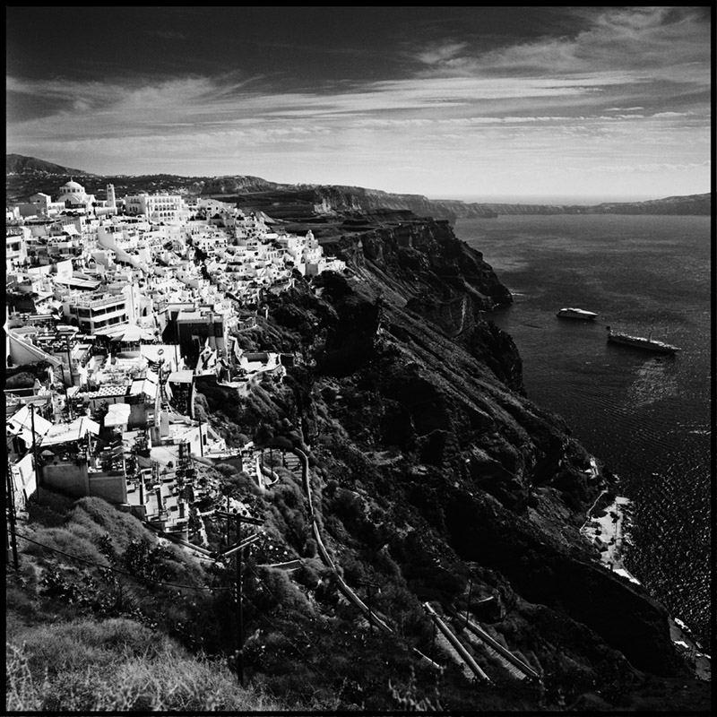 Griechenland 2009 * Santorini * Hasselblad 500c/m * Rossi Photography * Reisereportage