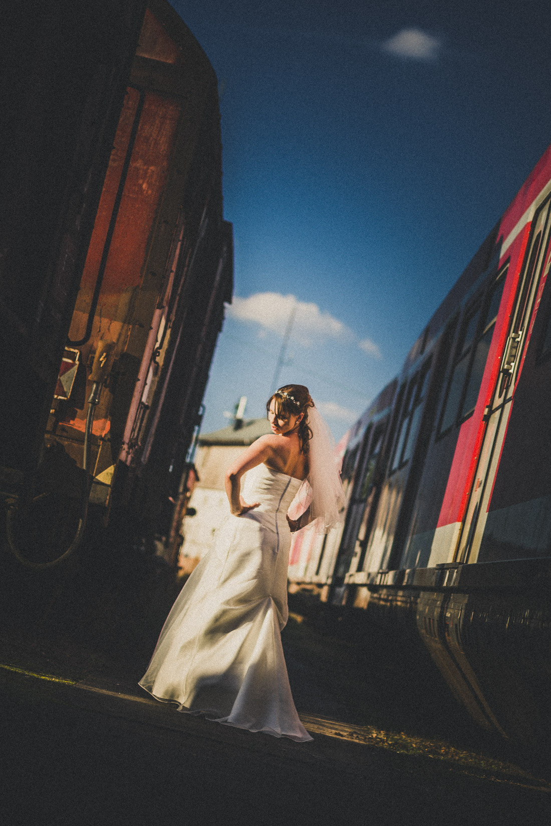 21. August 2015 * Kyra * Trash the dress! *Braut-Shooting * Hochzeitsfotograf Hessen und Deutschland * Rossi Photography