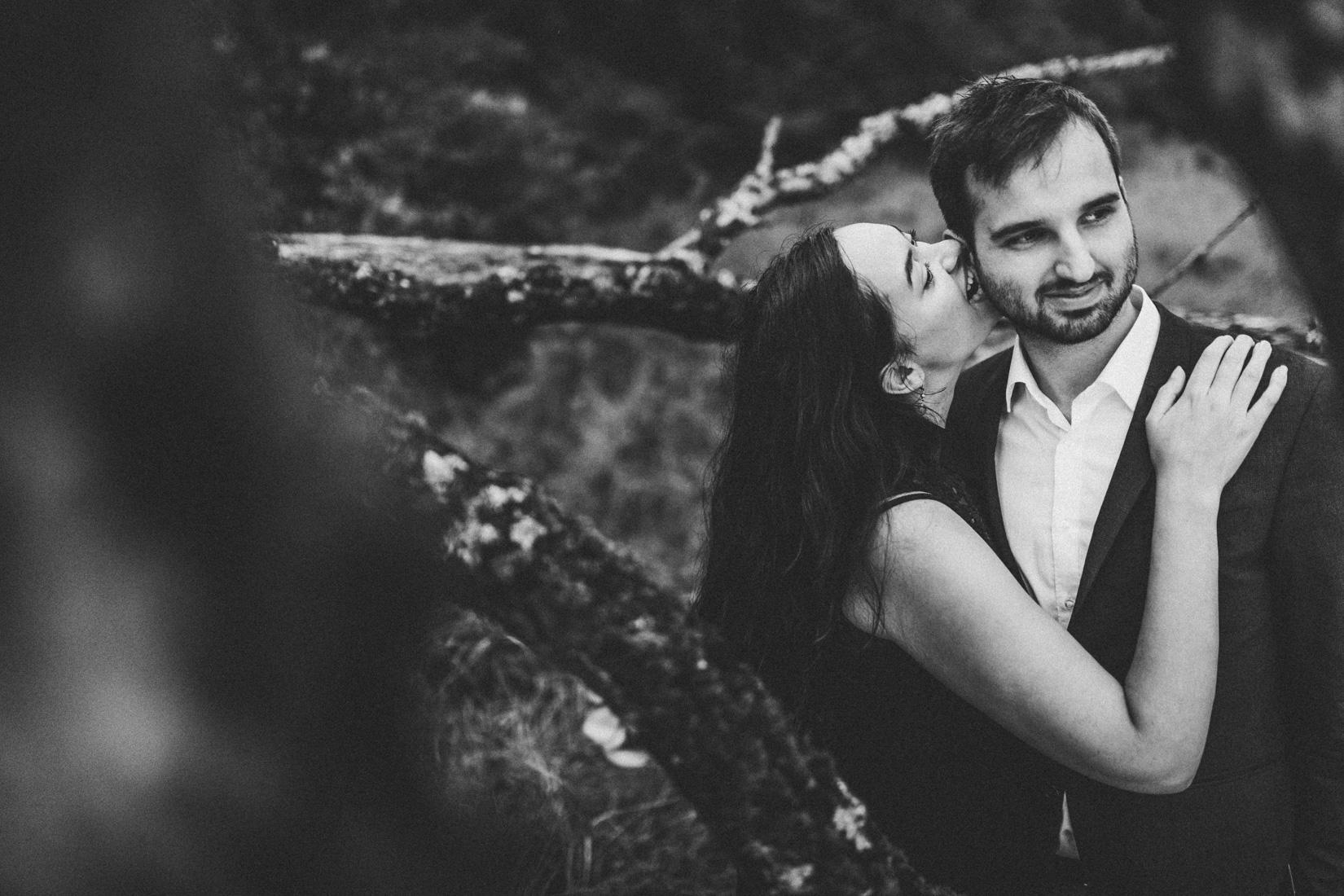 15. August 2017 * Kathleen & Julian * Paarshooting im Regen * Bergwerkswald * Paarfotograf Gießen, Frankfurt, Deutschland