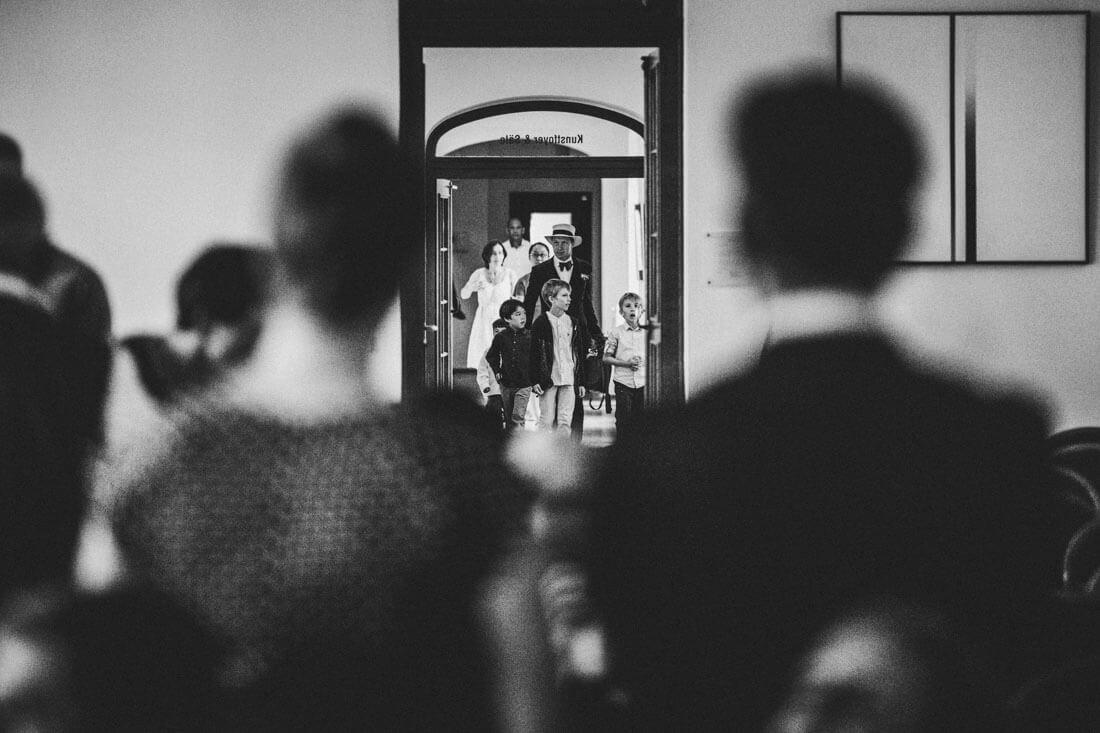 Standesamtliche Trauung im Frit-Loeffler-Saal, Hochzeitsfotograf Dresden