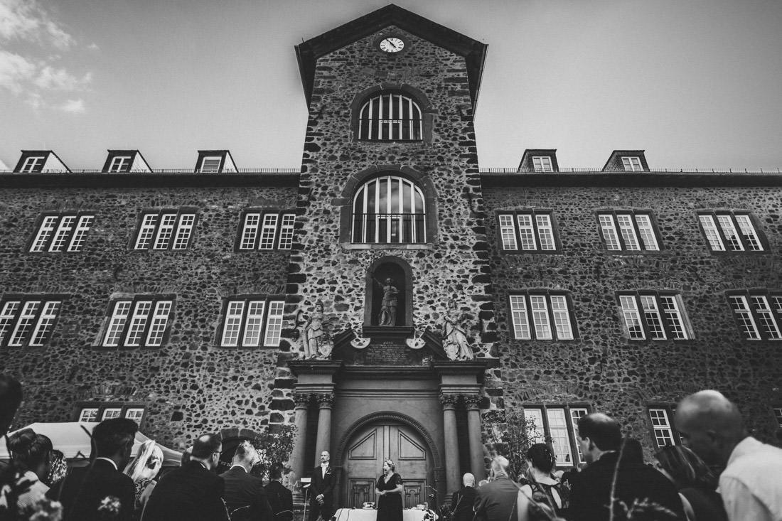 Heiraten im Schloss - Freie Trauung im Landgrafen-Schloss Butzbach - Hochzeitsfotograf Butzbach - Rossi Photography