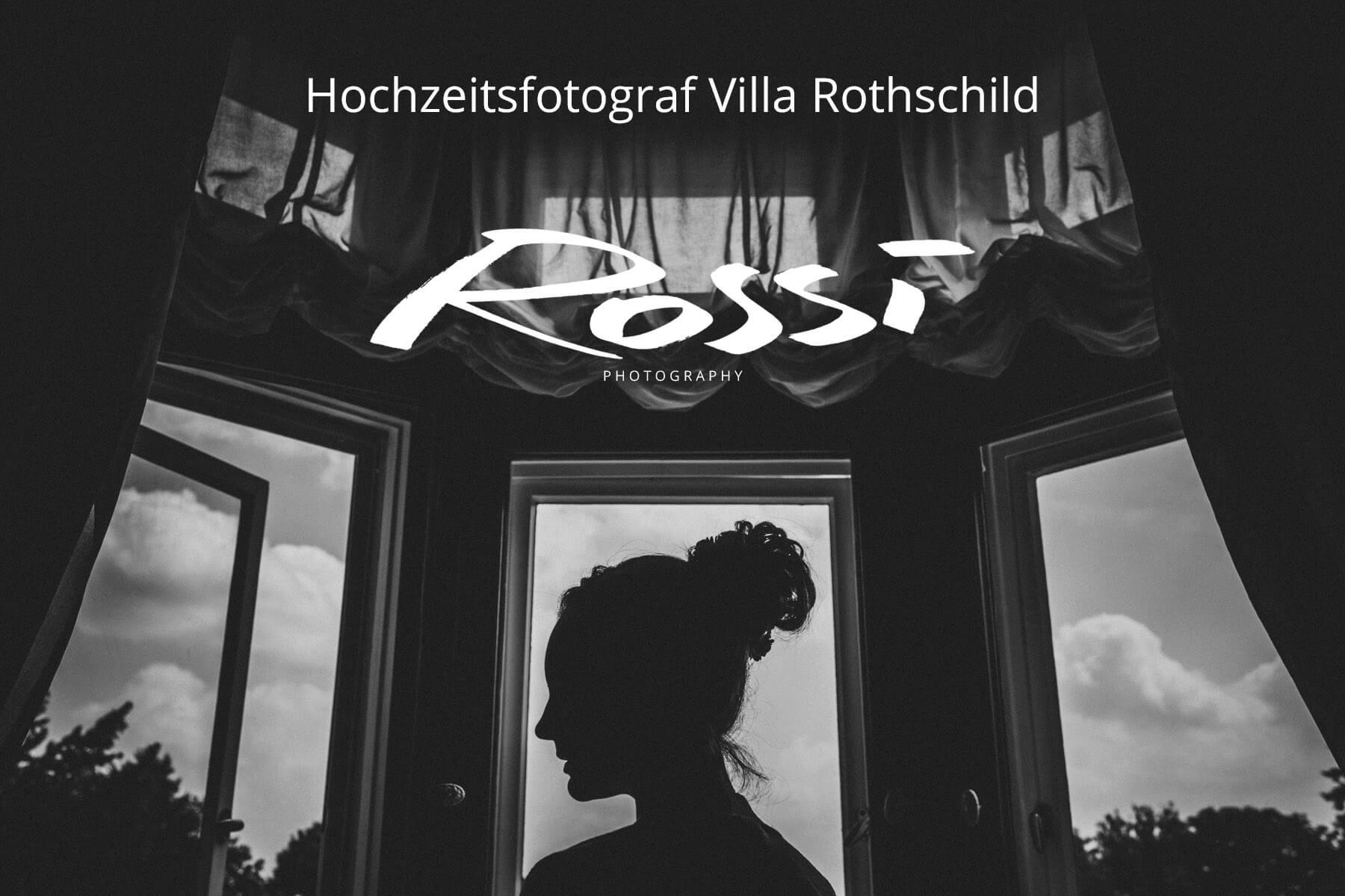 Hochzeitsfotograf Frankfurt am Main * Hochzeitsfotograf Villa Rothschild * Rossi Photography