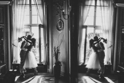 STandesamtliche Trauung im Bolongaro-Palast - Hochzeitsfotograf Frankfurt Hoechst