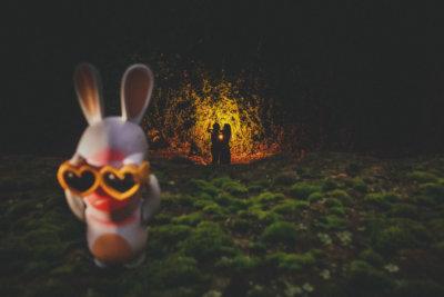 Hochzeitsfotograf Frankfurt - Paarshooting in Frankfurt-Hoechst - kreativ und außergewöhnlich