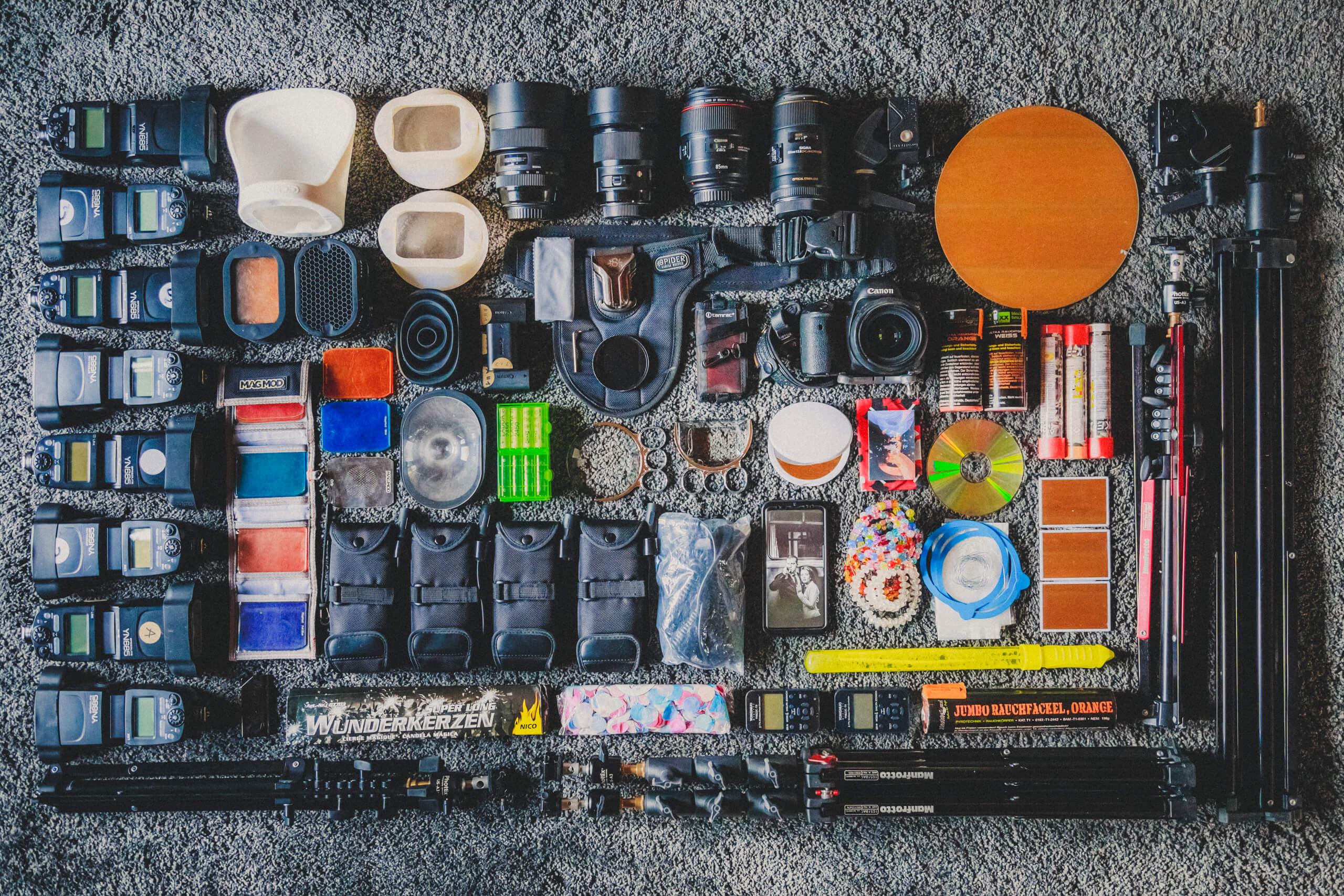 Was ist in meiner Fototasche? - What´s in my bag? (Teil 2)