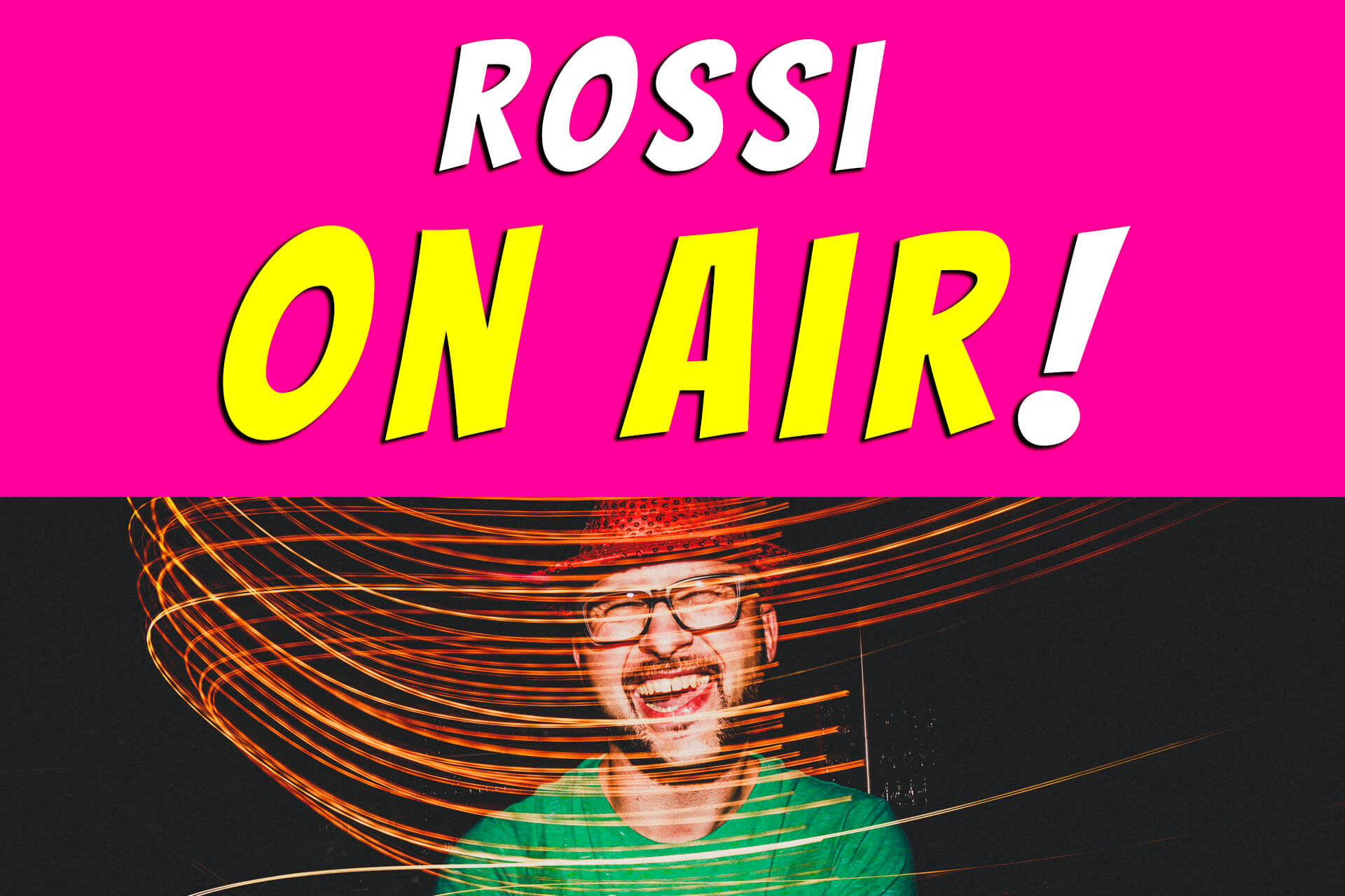 Rossi on air! - der Hochzeitsfotografie-Podcast! Live und unzensiert!