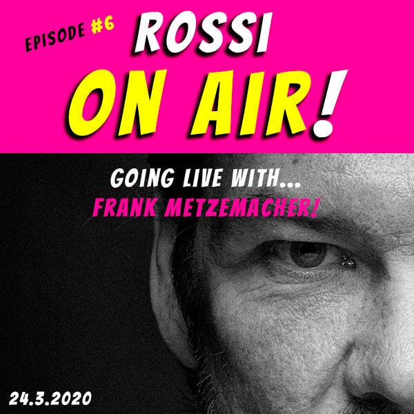 Rossi on air! - Der Hochzeitsfotografie-Podcast! - Live und unzensiert! - Episode 6