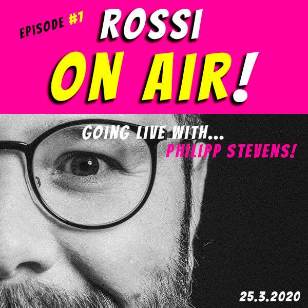 Rossi on air! - Der Hochzeitsfotografie-Podcast! - Live und unzensiert! - Episode 7