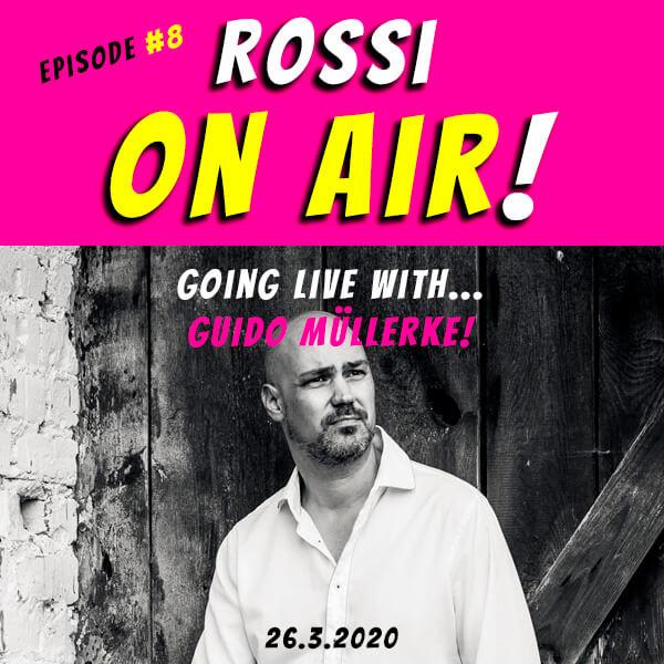 Rossi on air! - Der Hochzeitsfotografie-Podcast! - Live und unzensiert! - Episode 8