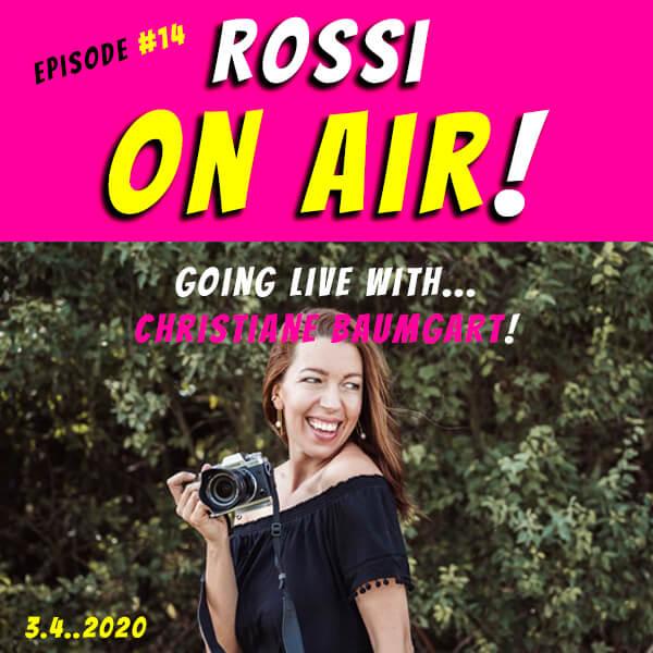 Rossi on air! - Der Hochzeitsfotografie-Podcast! - Live und unzensiert! - Episode 14