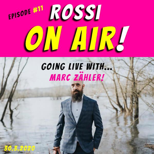 Rossi on air! - Der Hochzeitsfotografie-Podcast! - Live und unzensiert! - Episode 11
