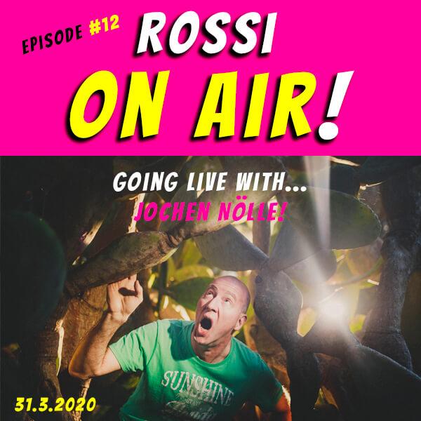 Rossi on air! - Der Hochzeitsfotografie-Podcast! - Live und unzensiert! - Episode 12