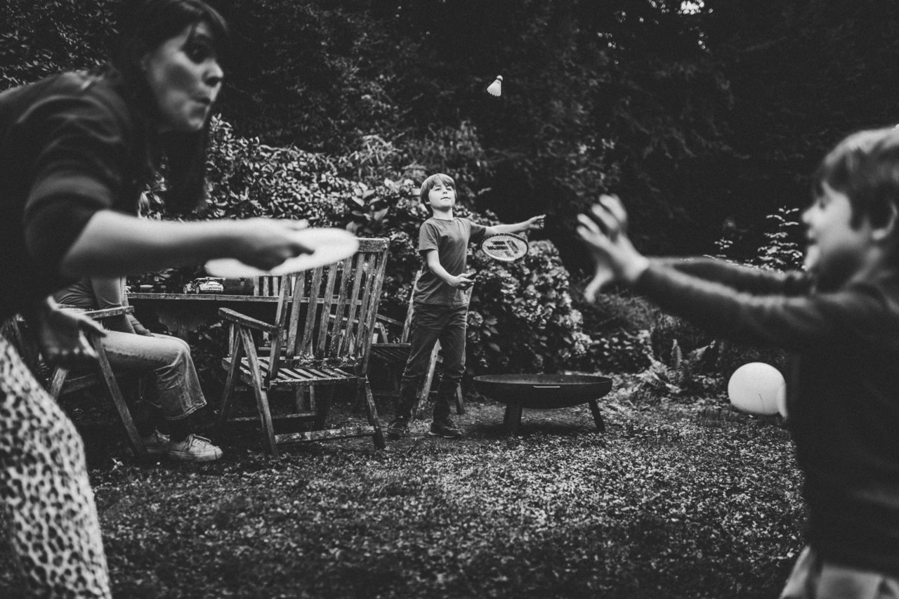 Familienreportage in Bayern - Ein ausgelassen-frühliches Familien-Sommerfest in Miltenberg - Familienfotograf Bayern