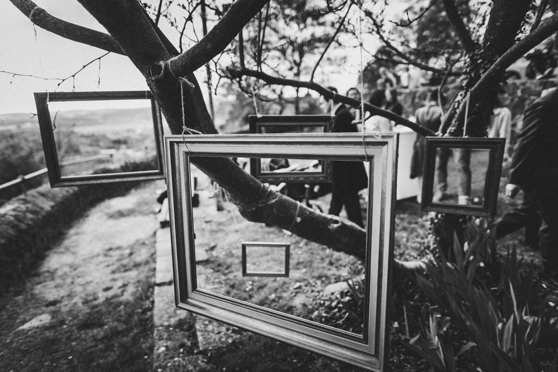 Hochzeitsfotograf Hofgut Friedelhausen - Sektempfang auf Burg Staufenberg - Einzigartige Hochzeitsreportagen