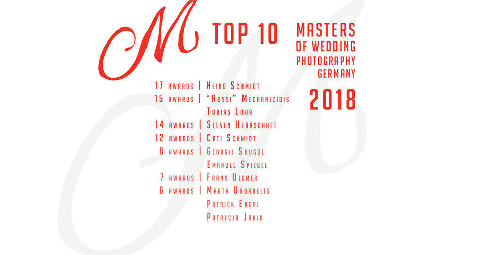 Top 10 Wedding photographers Germany 2020 - Masters of German Wedding Photography - Platz 3