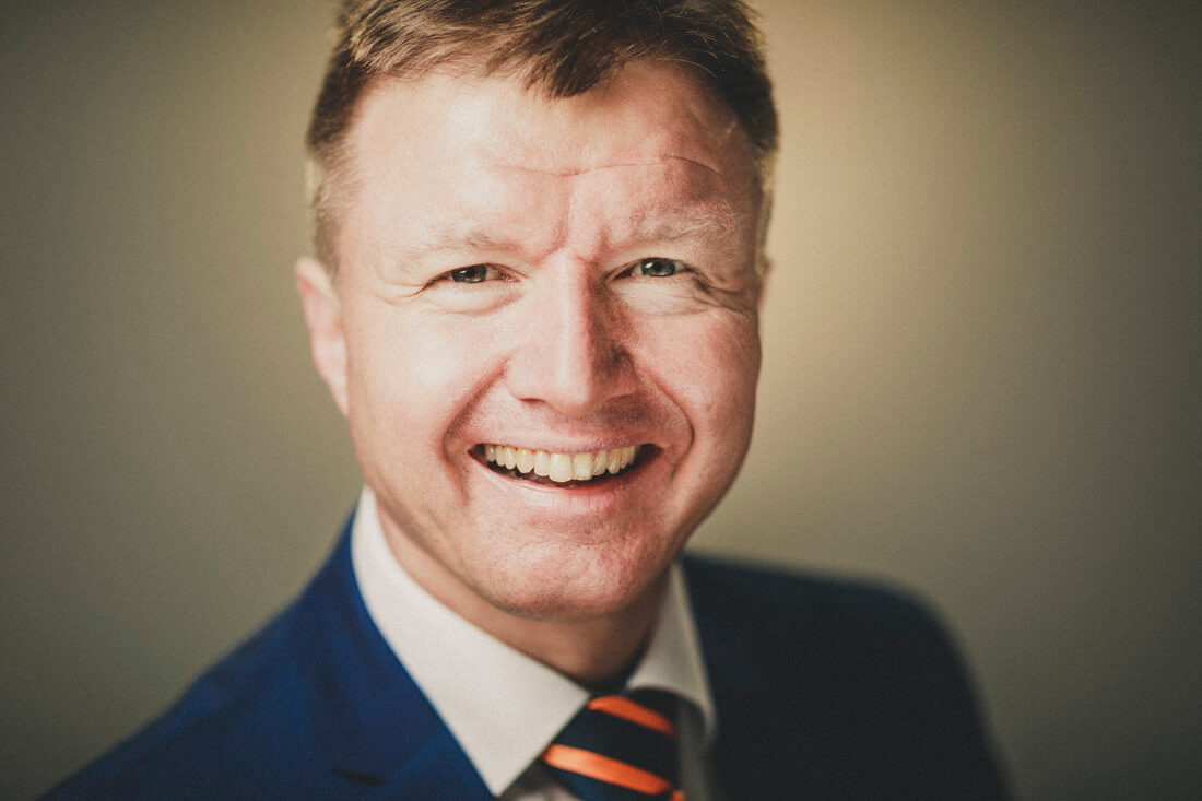 michael ranft, buergermeisterkandidat der cdu fuer buseck, 2020 - hochqualitative businessportraits und headshots mit charakter