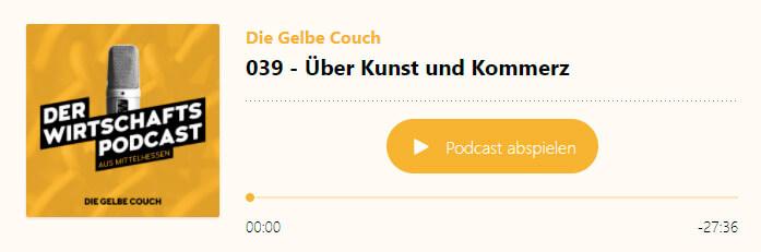 die gelbe couch - folge 39 - über kunst und kommerz