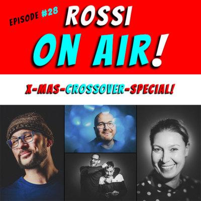 Rossi on air! - Der Hochzeitsfotografie-Podcast! - Live und unzensiert! - Episode 28 - Xmas-Crossover-Special!